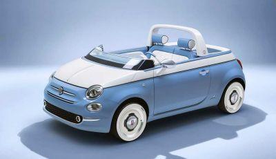 Fiat 500 Spiaggina by Garage Italia, omaggio alla Jolly Spiaggina del 1958