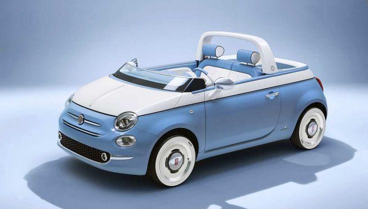 Fiat 500 Spiaggina by Garage Italia, omaggio alla Jolly Spiaggina del 1958 - Foto 1 di 18