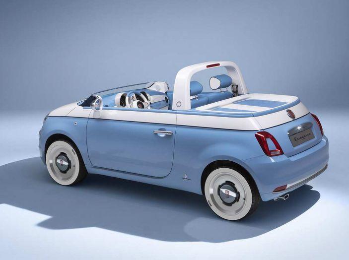 Fiat 500 Spiaggina by Garage Italia, omaggio alla Jolly Spiaggina del 1958 - Foto 4 di 18