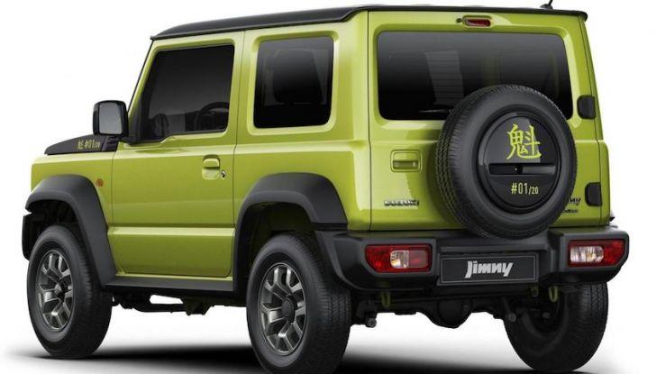 Suzuki Jimny Sakigake 2018, Sold Out i 20 esemplari in edizione limitata - Foto 4 di 6