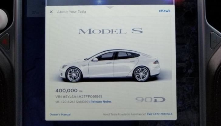 Tesla Model S del 2015 con 645.000Km: il report della manutenzione - Foto 3 di 9