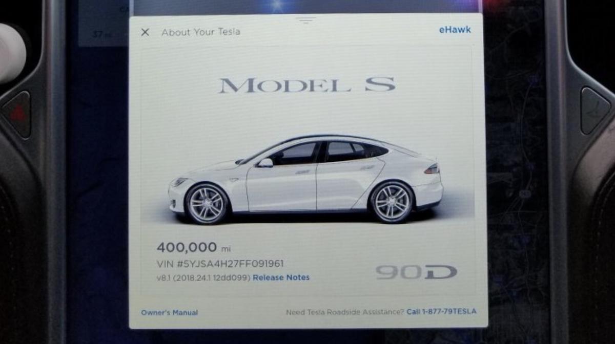 Tesla Model S 645.000Km