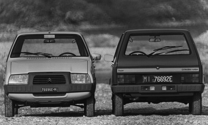 Citroën VISA: la presentazione e i primi anni - Foto 4 di 9