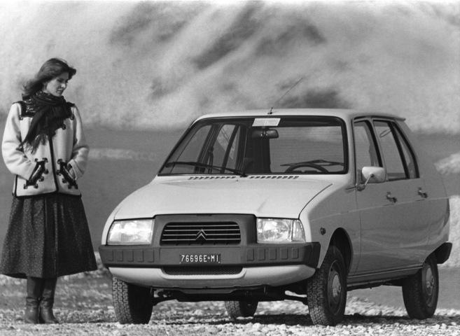 Quarant'anni fa nasceva una nuova Citroën: VISA - Foto 3 di 5