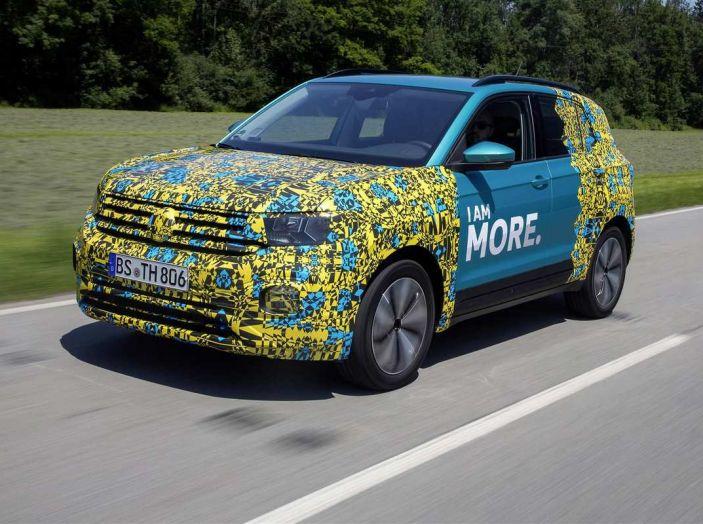 Volkswagen T-Cross 2019: il crossover entry-level su base Polo - Foto 2 di 10