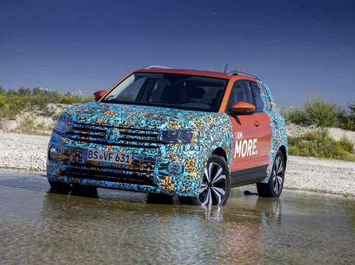 Volkswagen T-Cross 2019: il crossover entry-level su base Polo - Foto 10 di 10