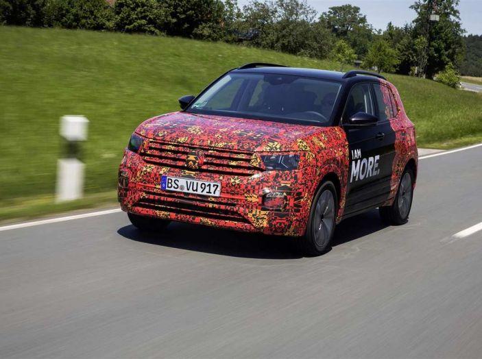 Volkswagen T-Cross 2019: il crossover entry-level su base Polo - Foto 4 di 10
