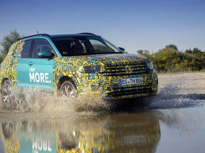 Volkswagen T-Cross 2019: il crossover entry-level su base Polo - Foto 6 di 10