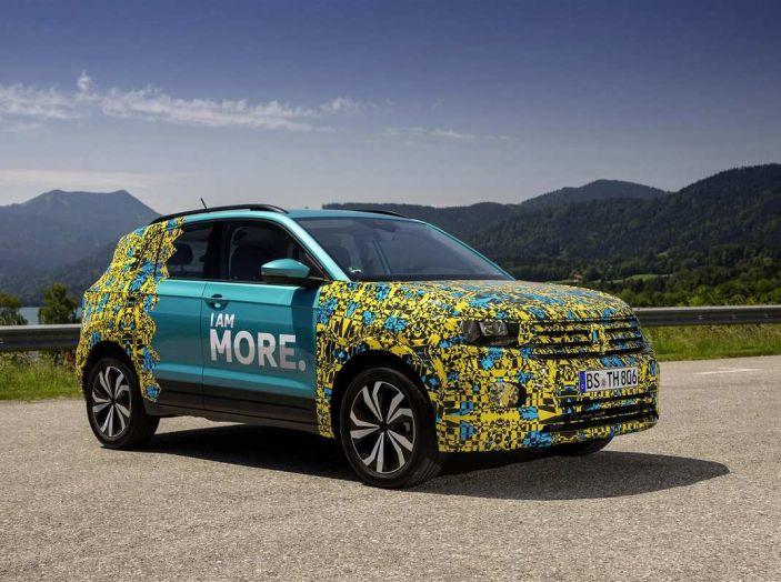 Volkswagen T-Cross 2019: il crossover entry-level su base Polo - Foto 7 di 10