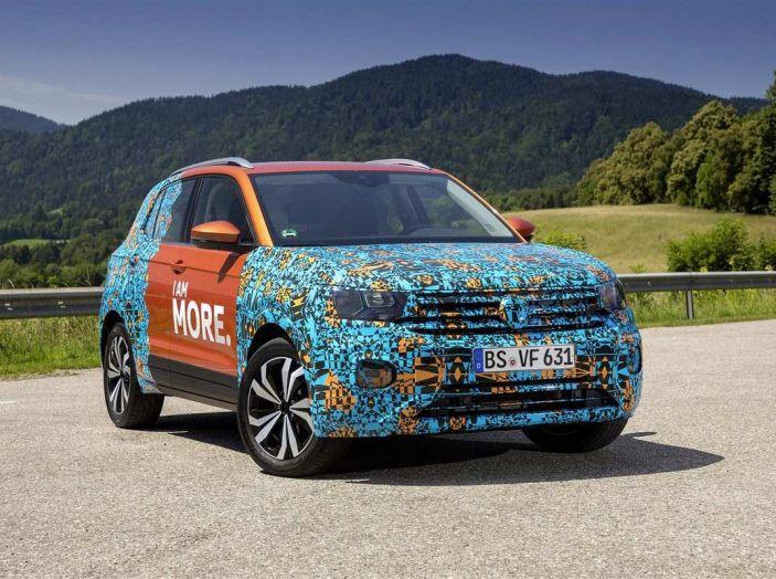 Volkswagen T-Cross 2019: il crossover entry-level su base Polo - Foto 1 di 10