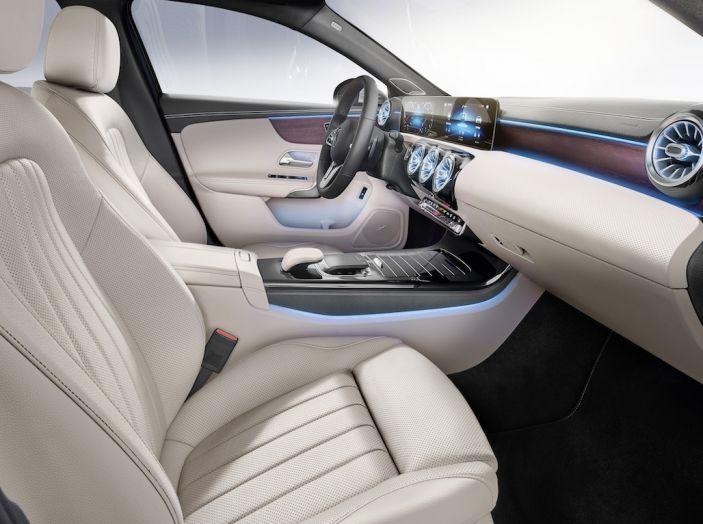 Nuova Mercedes Classe A Berlina 2018: Informazioni, motori e caratteristiche - Foto 22 di 37