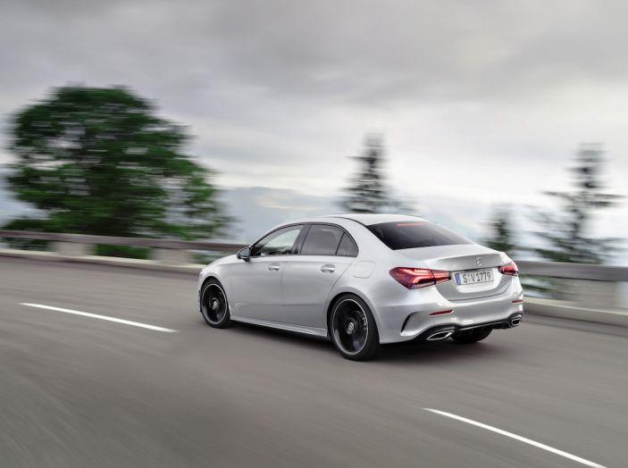 Nuova Mercedes Classe A Berlina 2018: Informazioni, motori e caratteristiche - Foto 24 di 37