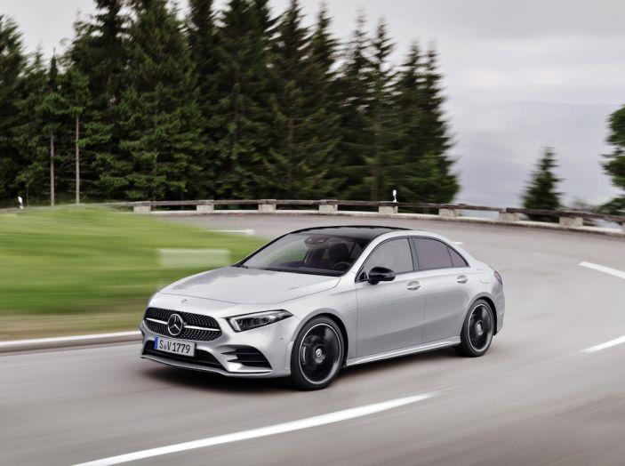Nuova Mercedes Classe A Berlina 2018: Informazioni, motori e caratteristiche - Foto 29 di 37