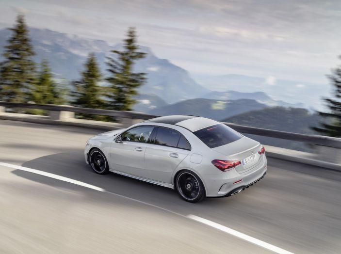 Nuova Mercedes Classe A Berlina 2018: Informazioni, motori e caratteristiche - Foto 33 di 37