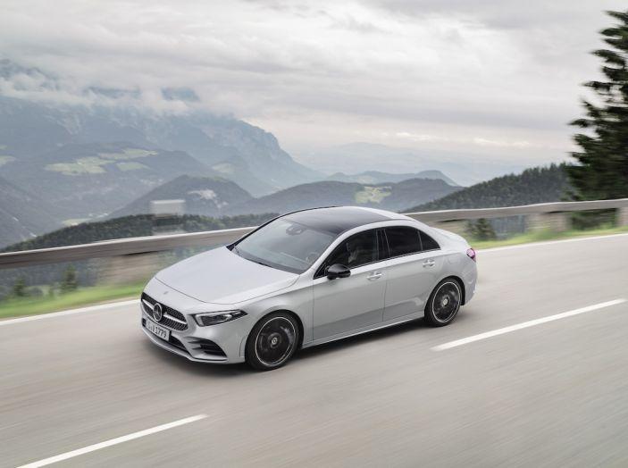 Nuova Mercedes Classe A Berlina 2018: Informazioni, motori e caratteristiche - Foto 25 di 37