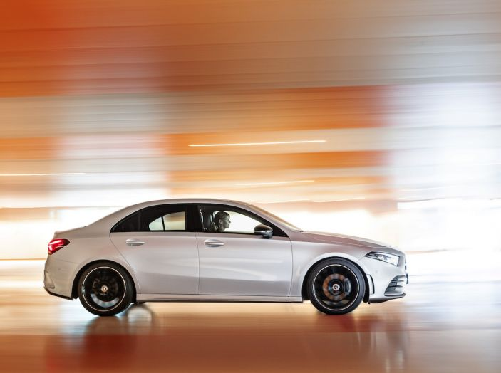 Nuova Mercedes Classe A Berlina 2018: Informazioni, motori e caratteristiche - Foto 20 di 37