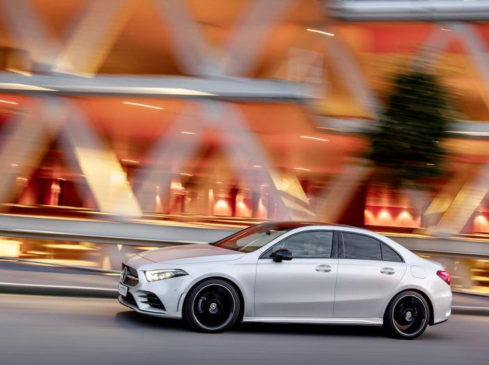 Nuova Mercedes Classe A Berlina 2018: Informazioni, motori e caratteristiche - Foto 18 di 37