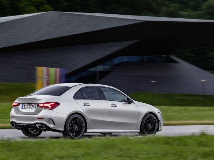 Nuova Mercedes Classe A Berlina 2018: Informazioni, motori e caratteristiche - Foto 2 di 37