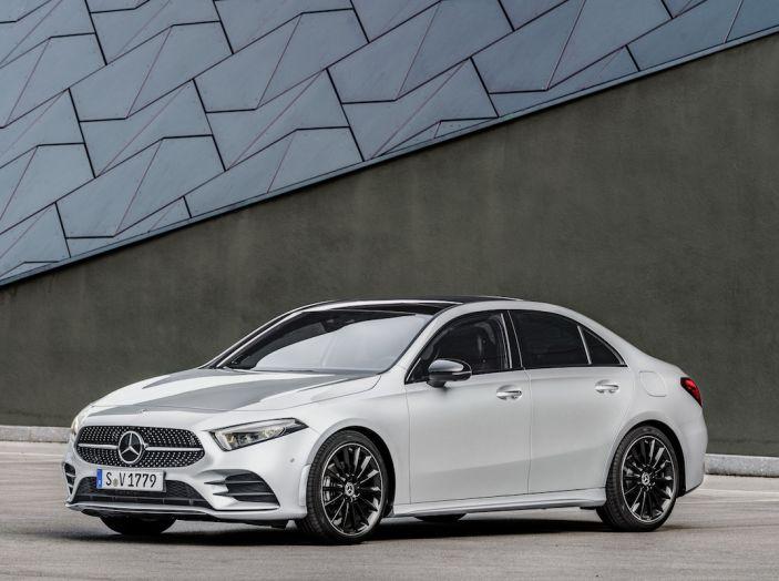 Nuova Mercedes Classe A Berlina 2018: Informazioni, motori e caratteristiche - Foto 1 di 37