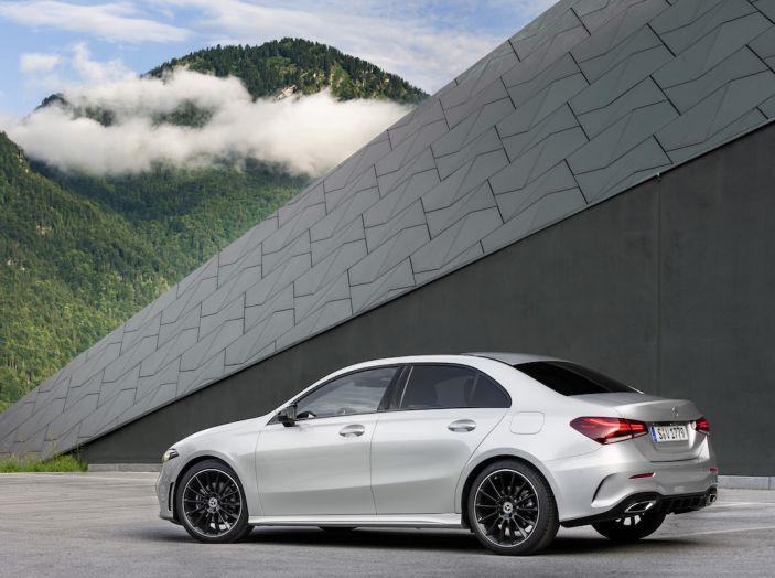 Nuova Mercedes Classe A Berlina 2018: Informazioni, motori e caratteristiche - Foto 21 di 37