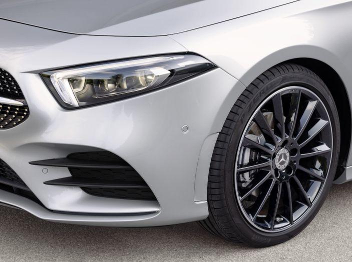 Nuova Mercedes Classe A Berlina 2018: Informazioni, motori e caratteristiche - Foto 16 di 37