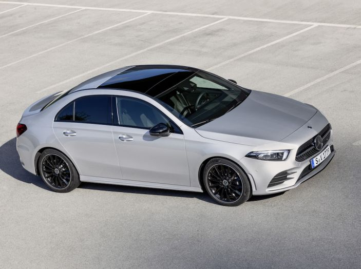 Nuova Mercedes Classe A Berlina 2018: Informazioni, motori e caratteristiche - Foto 5 di 37
