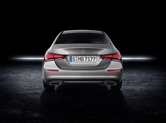 Nuova Mercedes Classe A Berlina 2018: Informazioni, motori e caratteristiche - Foto 37 di 37