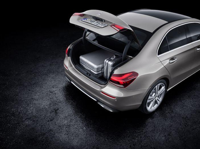 Nuova Mercedes Classe A Berlina 2018: Informazioni, motori e caratteristiche - Foto 36 di 37