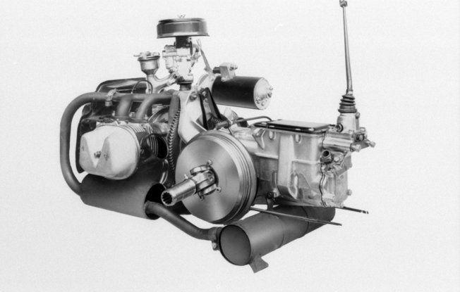 Il motore della 2CV fatto da un italiano - Foto 2 di 6