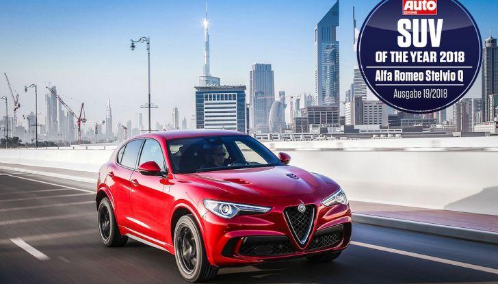 Alfa Romeo Stelvio Quadrifoglio è SUV dell'Anno in Germania - Foto 1 di 14