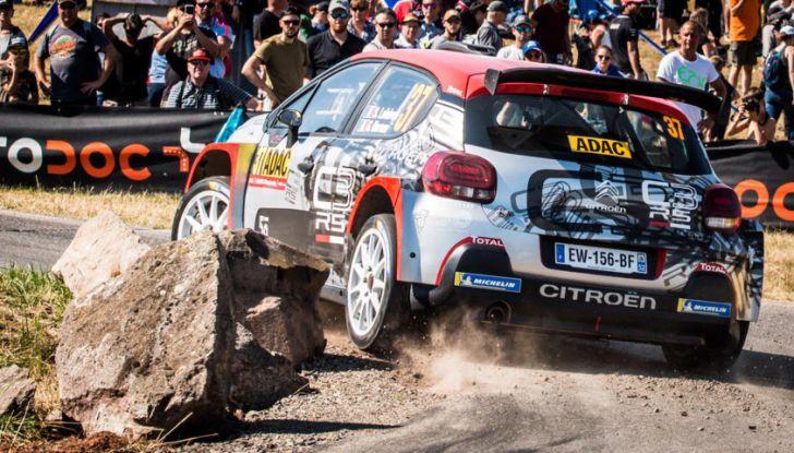 WRC2 Germania 2018: scratch per la C3 R5 nella Panzerplatt - Foto  di