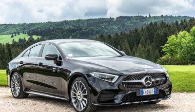 Prova Mercedes CLS 350d 4Matic: una foto alla perfezione!