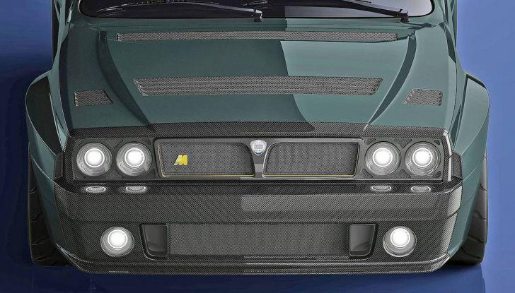 Lancia Delta Integrale Speciale 2018, rinasce un mito con Amos Automobili - Foto 14 di 17