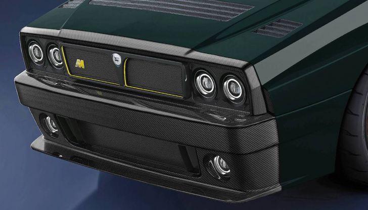 Lancia Delta Integrale Speciale 2018, rinasce un mito con Amos Automobili - Foto 15 di 17