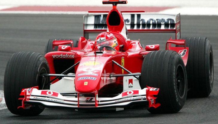 Ferrari F2004: storia, tecnica e record di una leggenda della Formula 1 - Foto 2 di 10