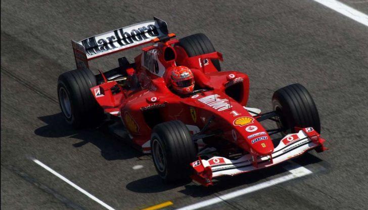 Ferrari F2004: storia, tecnica e record di una leggenda della Formula 1 - Foto 8 di 10