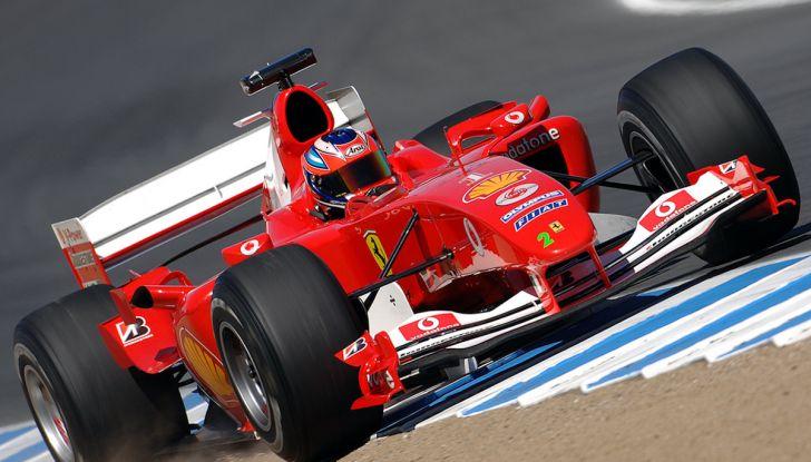 Ferrari F2004: storia, tecnica e record di una leggenda della Formula 1 - Foto 9 di 10