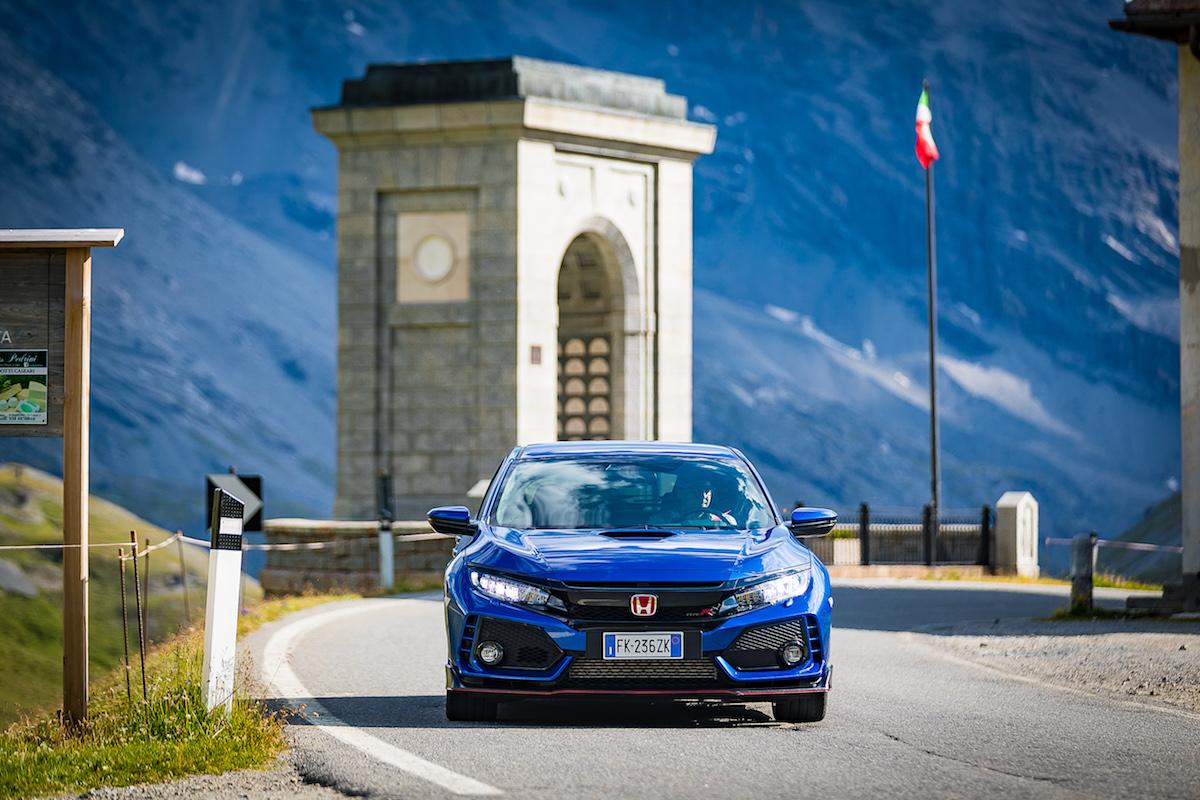 Honda Civic Type R Stelvio 2018
