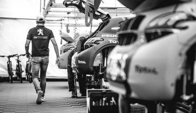 La Peugeot 208 WRX Evo attraversa l'atlantico per la gara in Canada