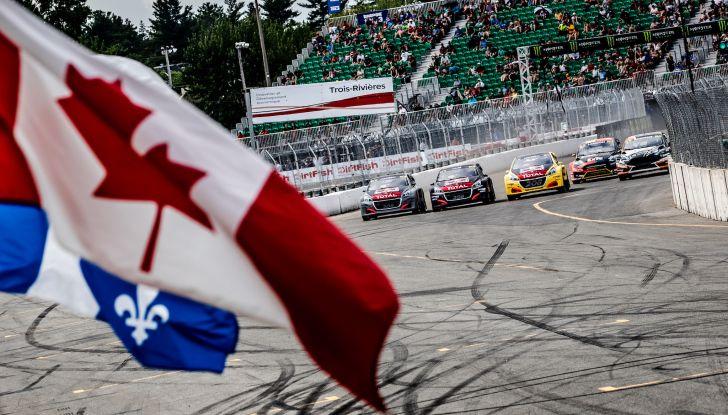 Il commento del team Peugeot dopo il podio canadese nel WRX con la 208 Evo - Foto 3 di 4