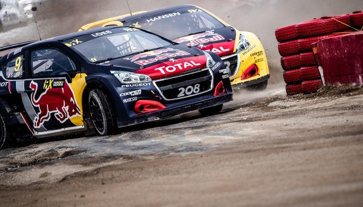 Il commento del team Peugeot dopo il podio canadese nel WRX con la 208 Evo - Foto 1 di 4