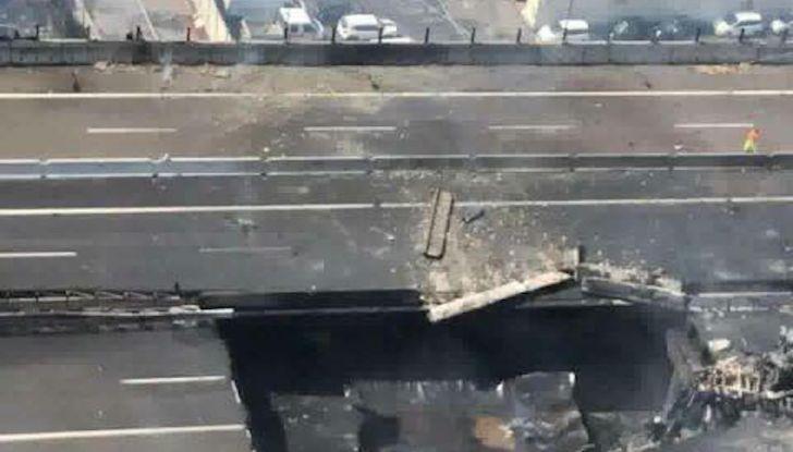 Un aiuto per vittime del disastro sull'A14 dopo l'esplosione dell'autocisterna - Foto 5 di 7