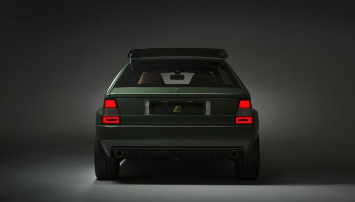 Lancia Delta Integrale Speciale 2018, rinasce un mito con Amos Automobili - Foto 5 di 17