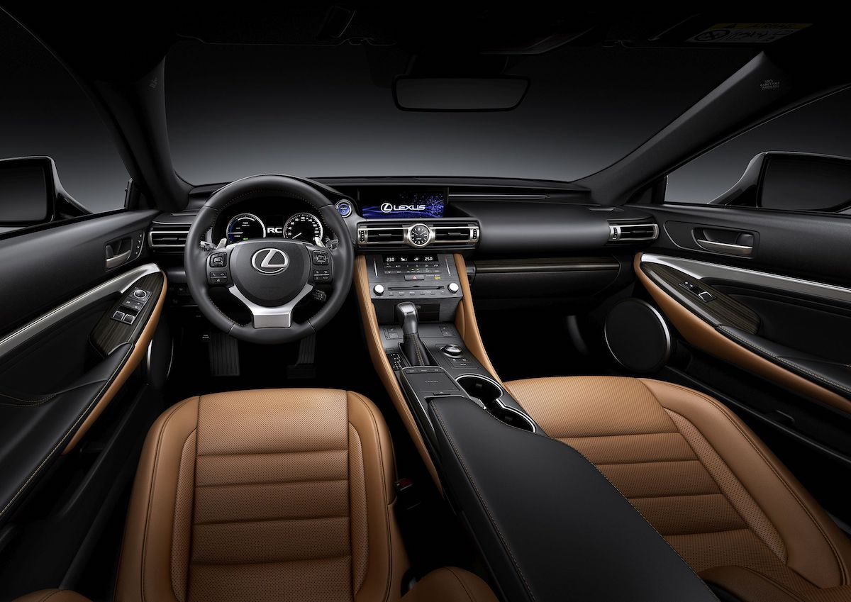 Lexus RC 2019 Interior
