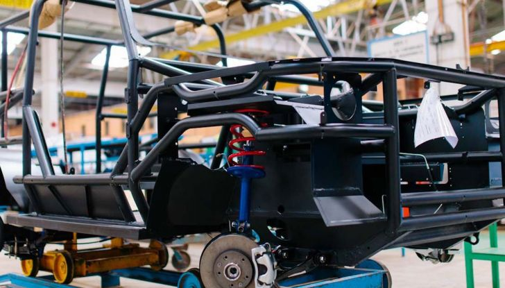 Un vero fuoristrada nel 2018? Il Made in Kenya dalla Mobius Motors - Foto 9 di 10