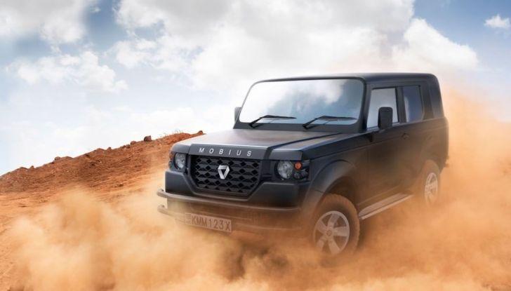 Un vero fuoristrada nel 2018? Il Made in Kenya dalla Mobius Motors - Foto 1 di 10