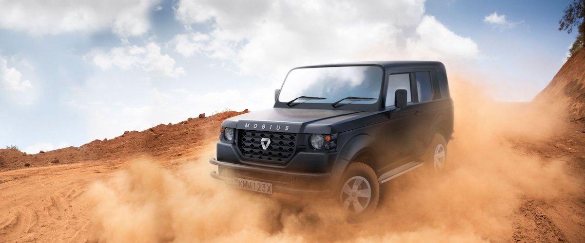 Un vero fuoristrada nel 2018? Il Made in Kenya dalla Mobius Motors - Infomotori