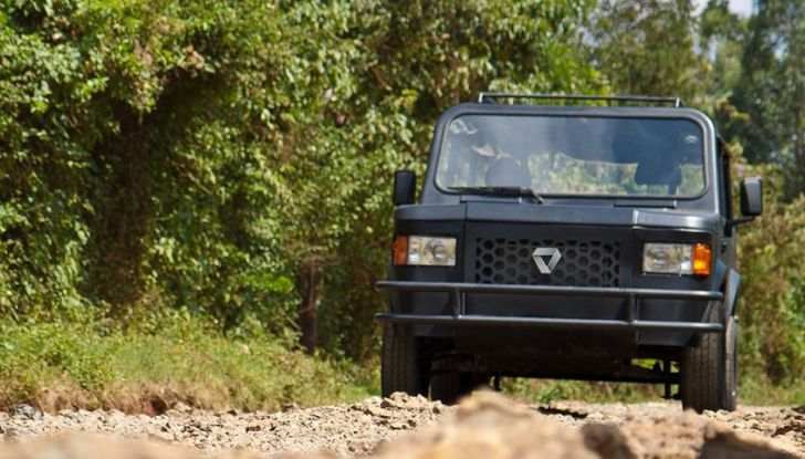 Un vero fuoristrada nel 2018? Il Made in Kenya dalla Mobius Motors - Foto 7 di 10