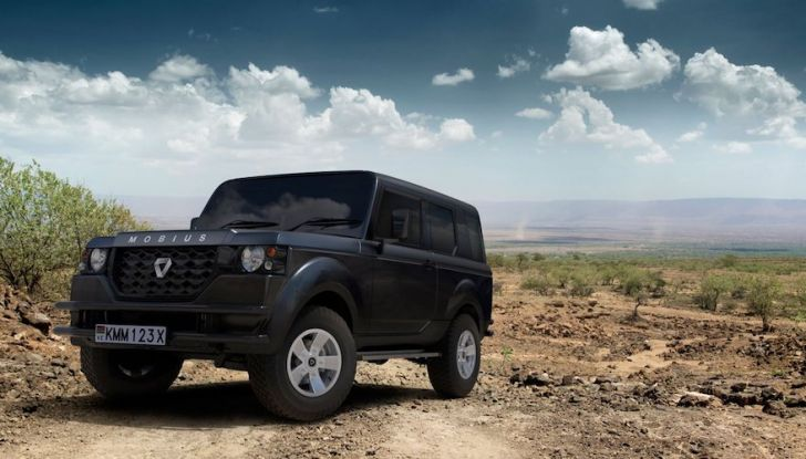 Un vero fuoristrada nel 2018? Il Made in Kenya dalla Mobius Motors - Foto 5 di 10