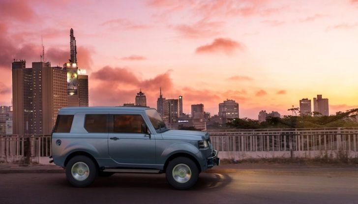 Un vero fuoristrada nel 2018? Il Made in Kenya dalla Mobius Motors - Foto 3 di 10